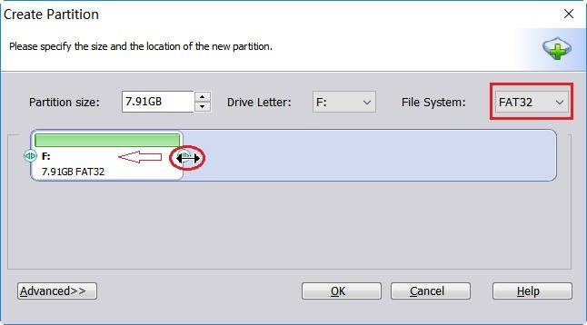 File System FAT32