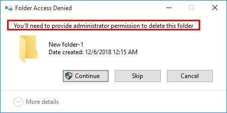 Cannot Delete Files from External Hard Drive