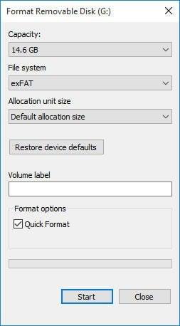 how to make a hard drive fat32 windows 8