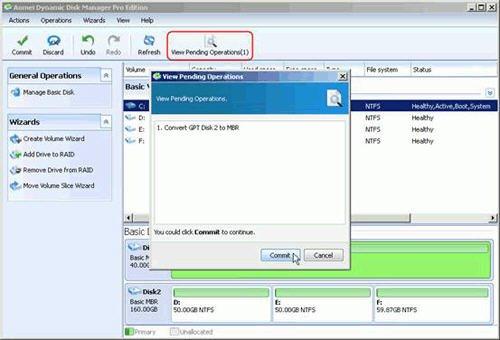 gpt task 2 2 convertir le disque dur mbr en gpt 21 méthode 1 : avec l'invite de commande windows 22 méthode 2 : avec gparted.