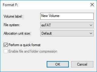 Freeware to Convert NTFS to exFAT successfully
