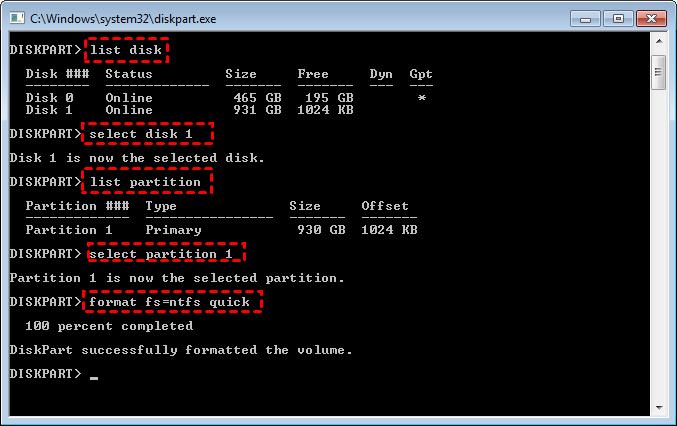 Format WD Passport for Windows