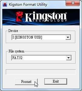 Kingston Format Utility