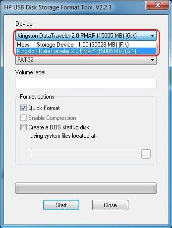 hp usb recovery flash disk utility windows 8 download