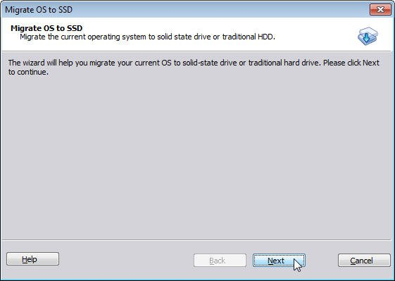 Migrate to SSD