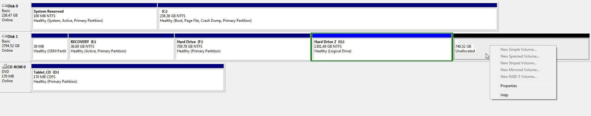 3TB Hard Drive