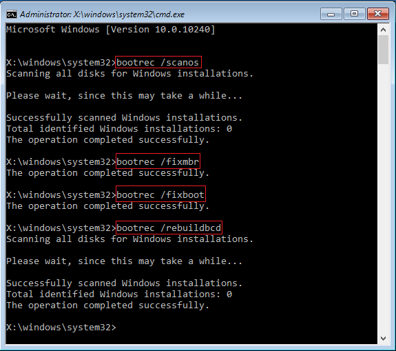 how to fix disk read error windows 7
