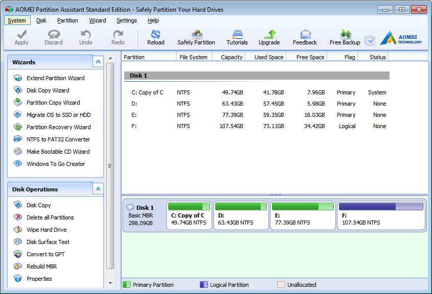 powerquest partition magic 8.0 free