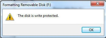 PNY Flash Drive Is Write Protected