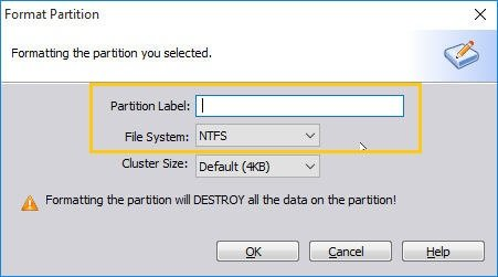 Edit Partition File System