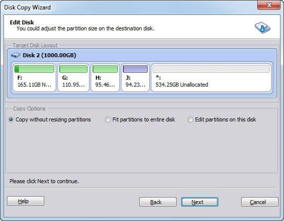 Edit Disk