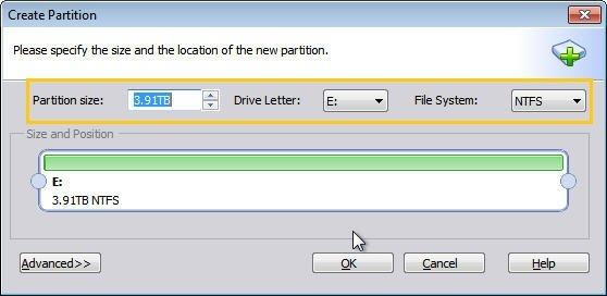 Edit Partition