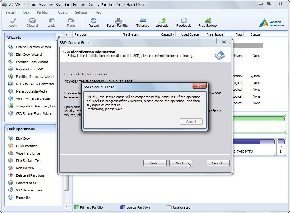 Securely Wipe Hard Drive With Disk Wipe Freeware