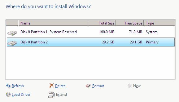 Delete System Partition