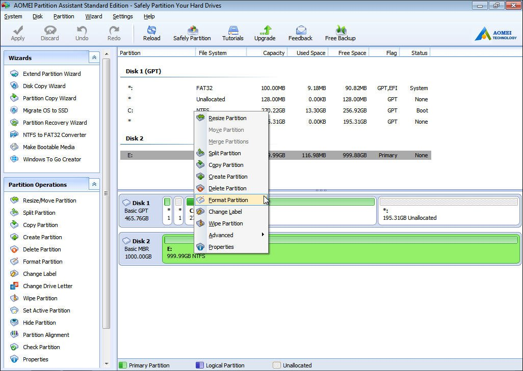 how to fix unallocated hard drive without losing data