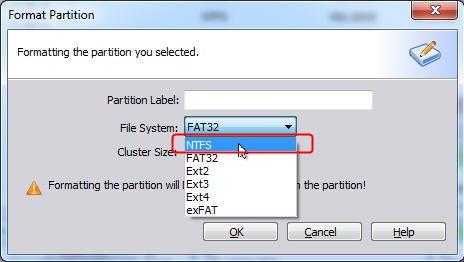 Choose File System