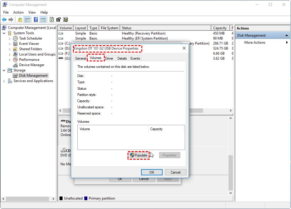 7 Solutions: USB No Media Fix in Windows 7, 8, 10