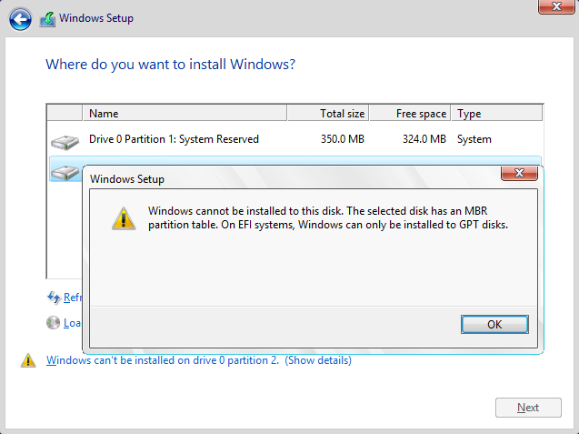 3 Ways to Fix Windows Won't Install on SSD or HDD