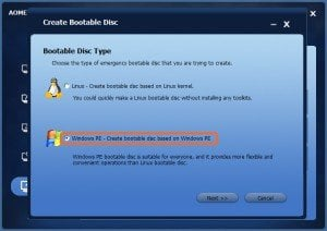 bootable-disc-type