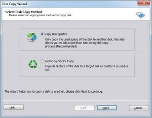Copy Disk Quickly