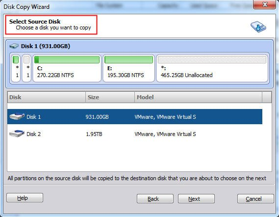 Clone MBR to GPT SSD/HDD in Windows 7/8/10 Simply and Quickly