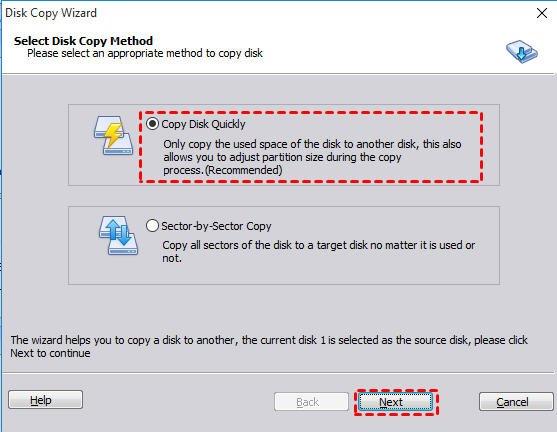 Copy Disk Quickly