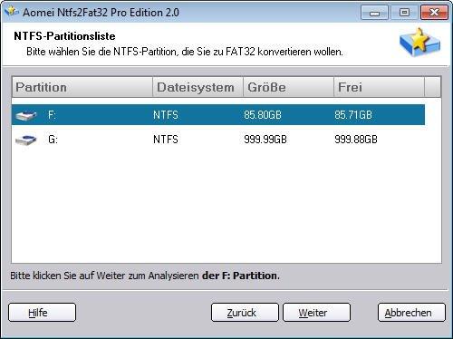 NTFS-Partition