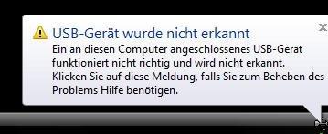 Lexar USB-Stick nicht erkannt