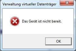 Verwaltung virtueller Datenträger