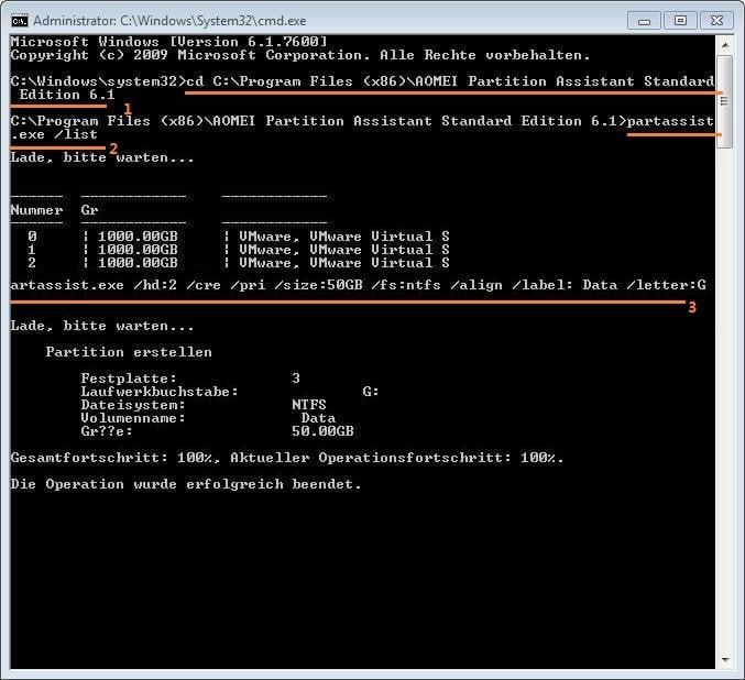 Primare Oder Erweiterte Partition Mit Diskpart Unter Windows