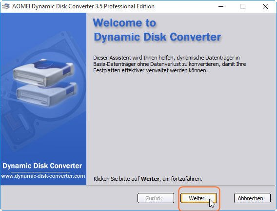 Convert to Basic Disk