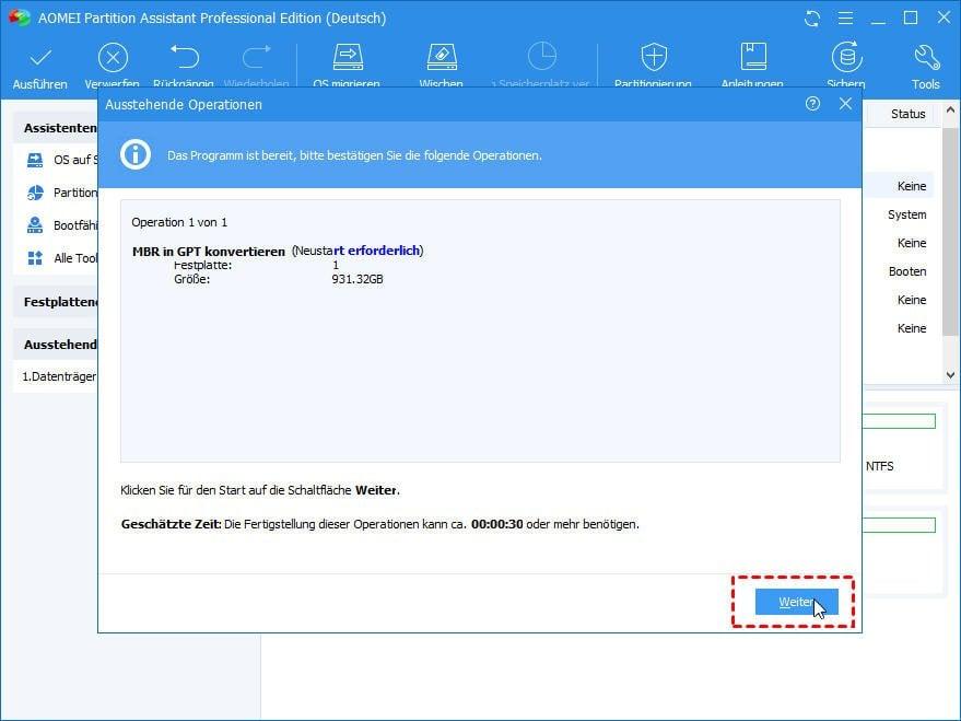 Auf Efi-Systemen Kann Windows Nur Auf Gpt-Datenträgern Installiert Werden