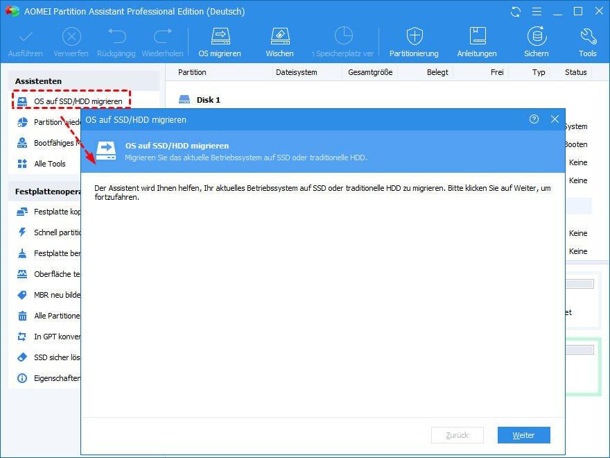 Windows 10 Umziehen Auf Neue Festplatte