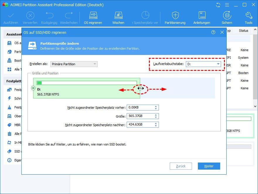 Windows 10 Partitionsgröße ändern
