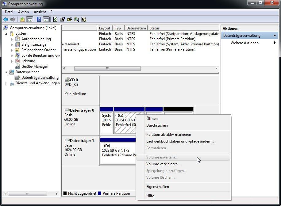 Windows 10 Wiederherstellungspartition Löschen