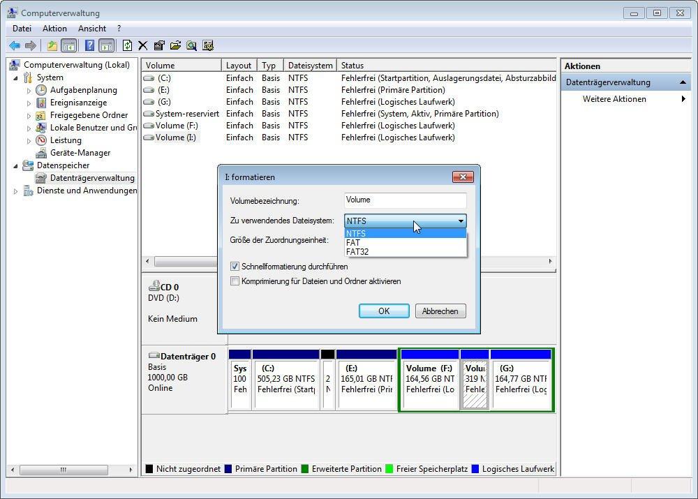 Windows 7 Neu Installieren Formatieren