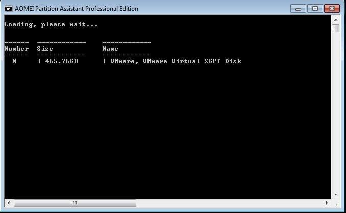 how to find disk label diskpart