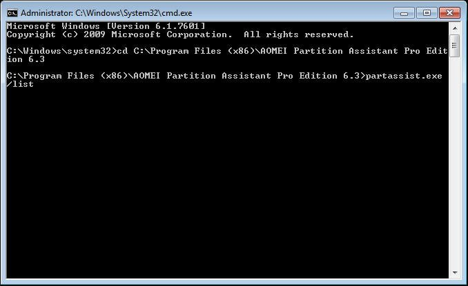 how to format disk partition with diskpart command line