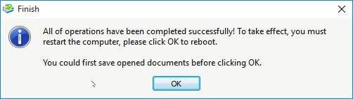 Reboot Information