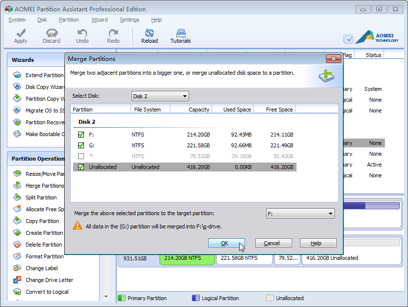 how to change my hard disk from dynamic to basic