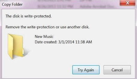 how to remove write protection from sd card using pc