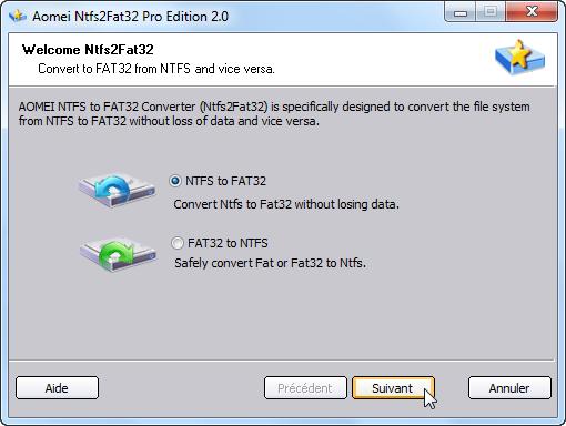logiciel pour formater disque dur externe fat32