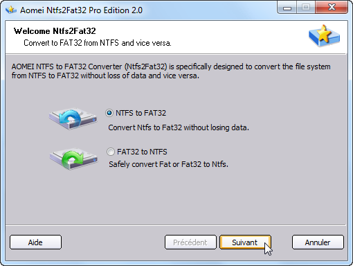 Comment convertir un DD fat32 en NTFS - assiste-infor.1fr1.net