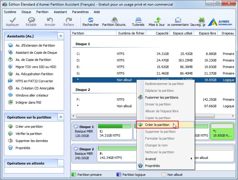 Cr er plus de 4 partitions sur le disque mbr dans windows for Ouvrir fenetre popup