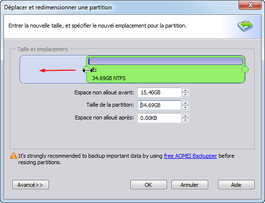 Extend Primary Partition