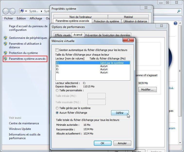 Disable Pagefiles