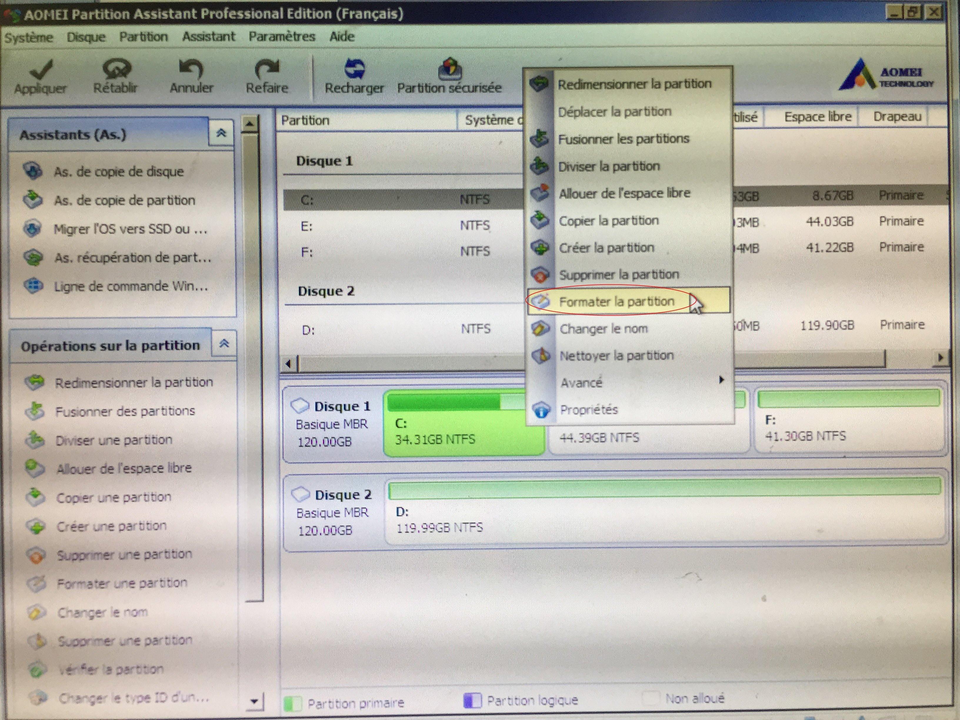 Format C Drive