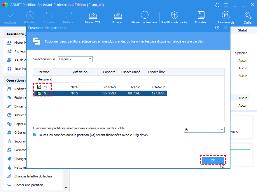 Partition Merging