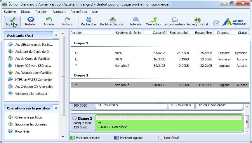6 solutions disque dur externe non initialis - Reparer table de partition disque dur ...