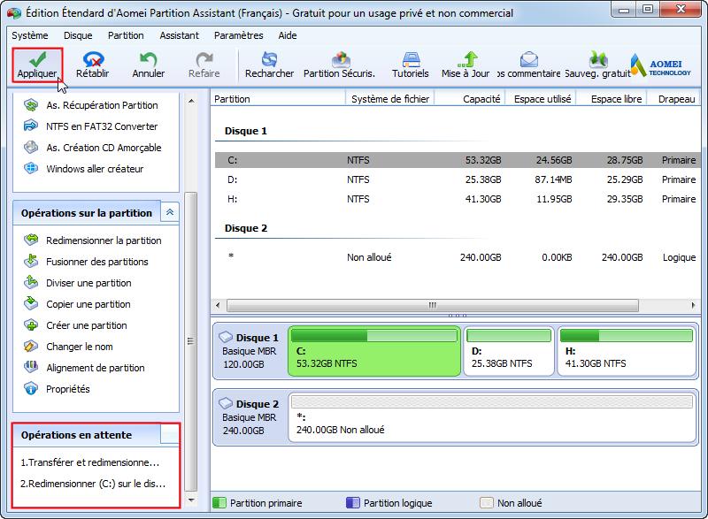 <b>Windows</b> 10 : comment <b>augmenter</b> la taille du <b>disque</b> C ...